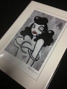 "Image of Hollywood Heartbreaker - Signed Mini Print with White Mat, 5""x7"""
