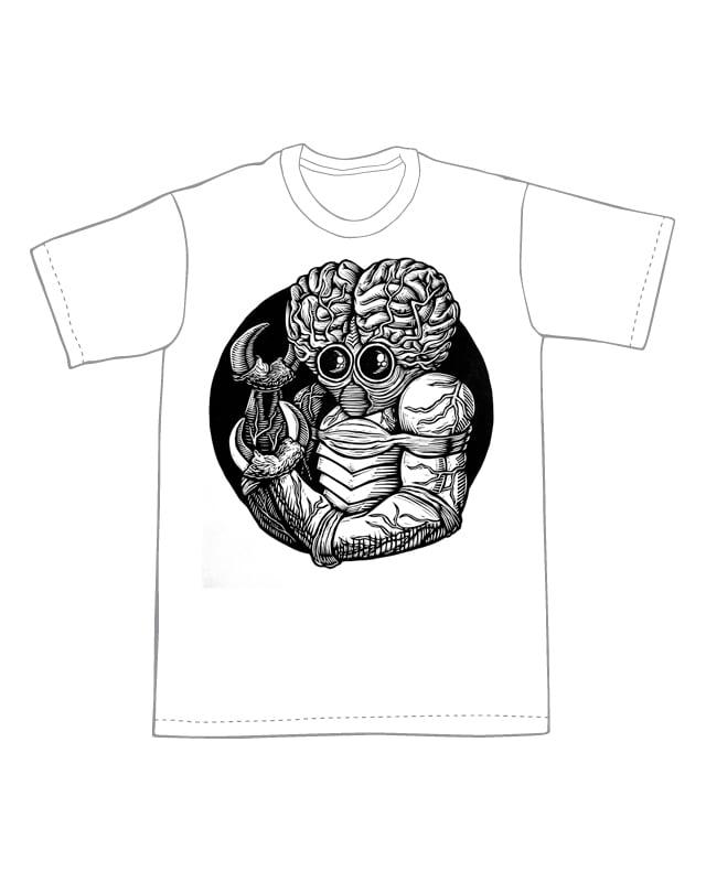 Metaluna Mutant T-Shirt (B2) **FREE SHIPPING**