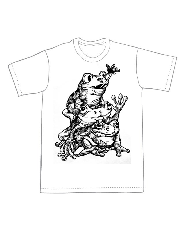 Image of Team Work Makes the Dream Work Frogs
