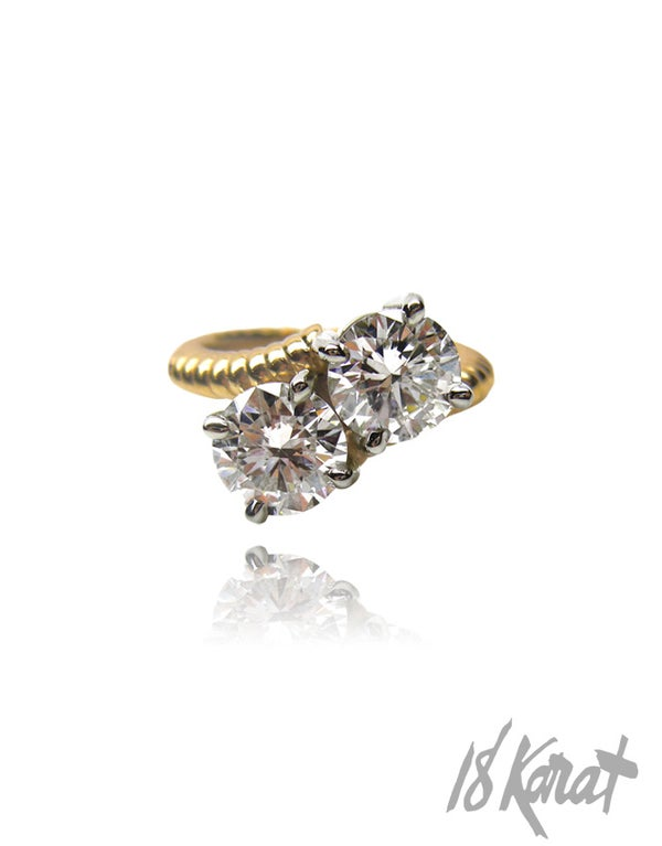 Janet's Diamond Ring - 18Karat Studio+Gallery