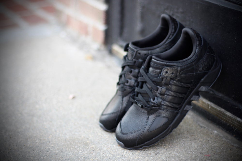 "Image of ADIDAS EQT EQUIPMENT RUNNING SUPPORT X PUSHA T ""BLACK MARKET"""