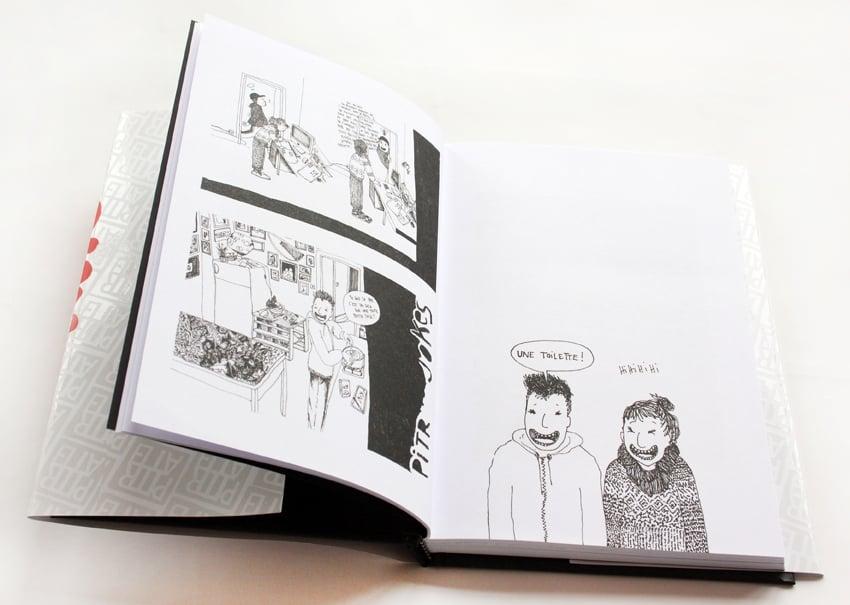 Image of BAISER D'ENCRE, le livre/INK KISS, the book.