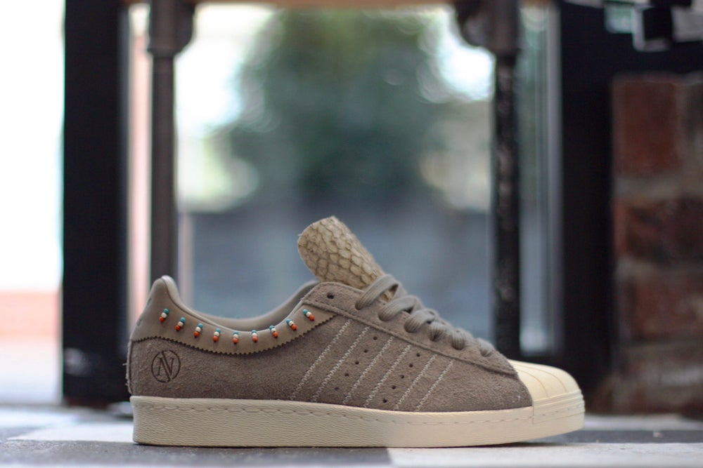 Image of ADIDAS SUPERSTAR 80V X INVINCIBLE CONSORTIUM
