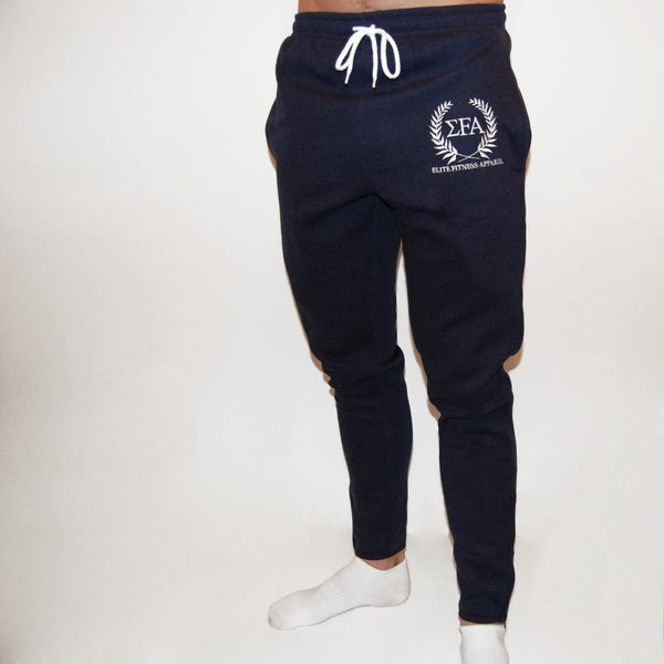 Titan Joggers - Marine - Elite Fitness Apparel