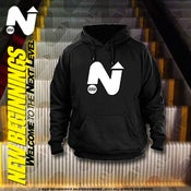 "Image of ""NEXT LEVEL"" TEAM LOGO HOODIE"