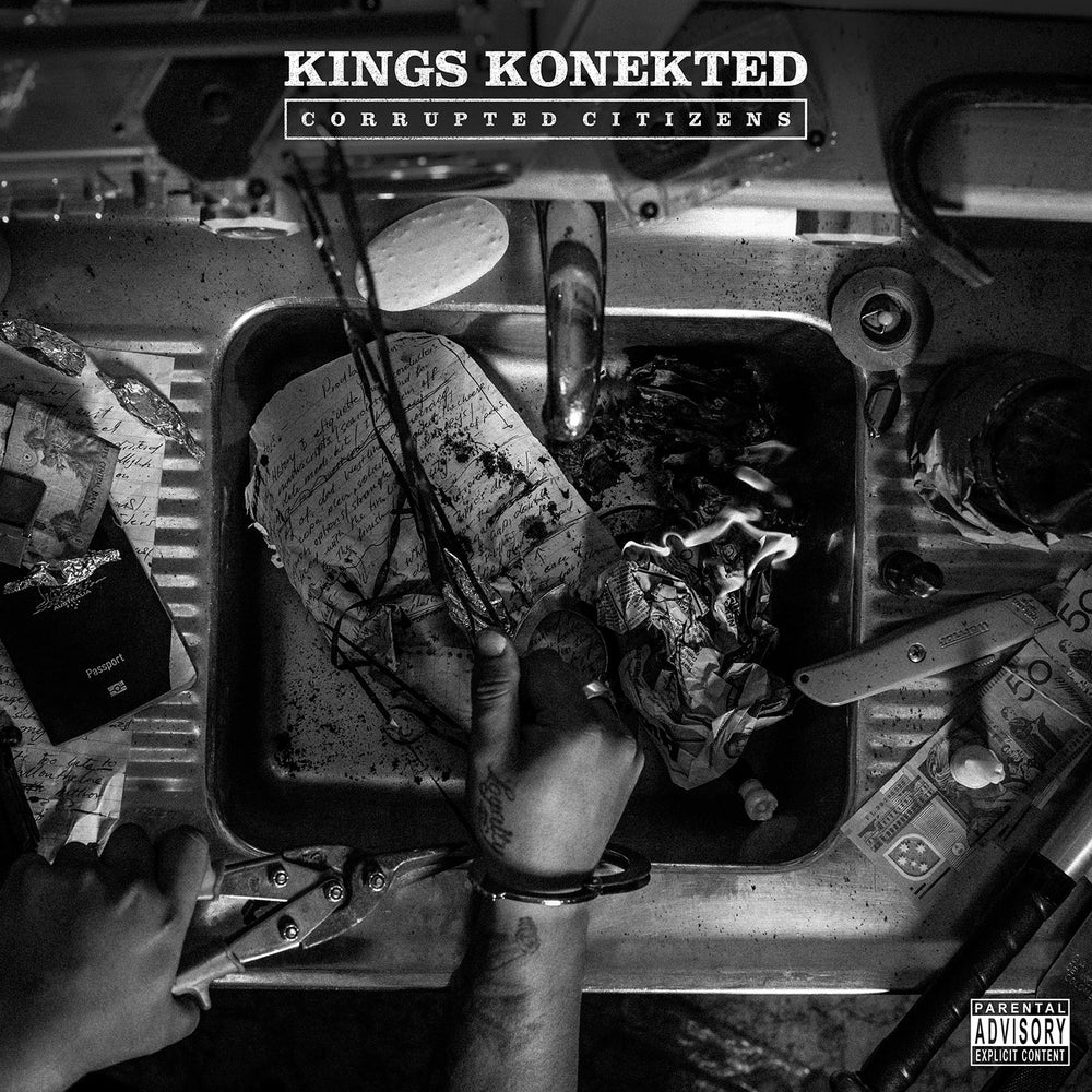Image of Kings Konekted - Corrupted Citizens CD