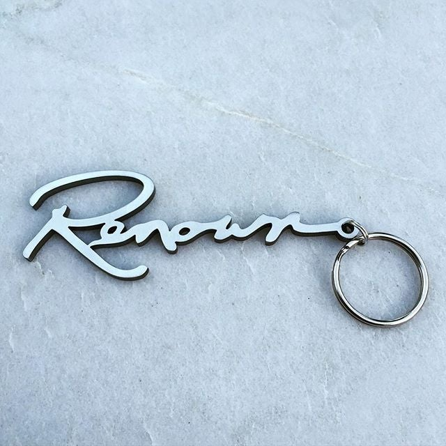 Image of Renown Stainless Keychains