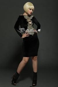 Image of Soho black dress