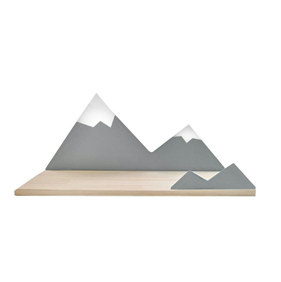 Image of Estantería montaña gris