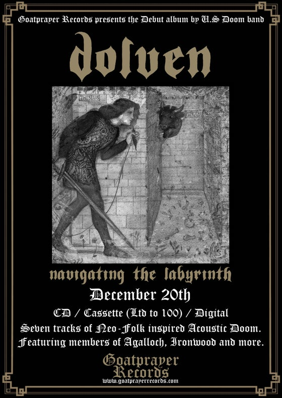 Image of DOLVEN - NAVIGATING THE LABYRINTH (CD)