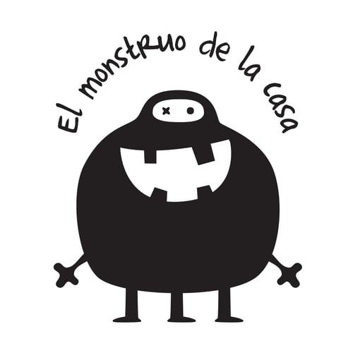 Image of Vinilo el monstruo de la casa