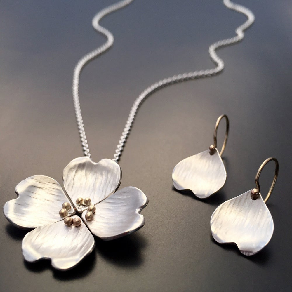 Image of Dogwood Petal Earrings