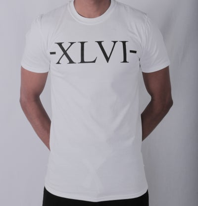 Image of XLVI White Tee