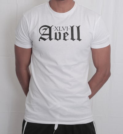 Image of XLVI Avell White Tee