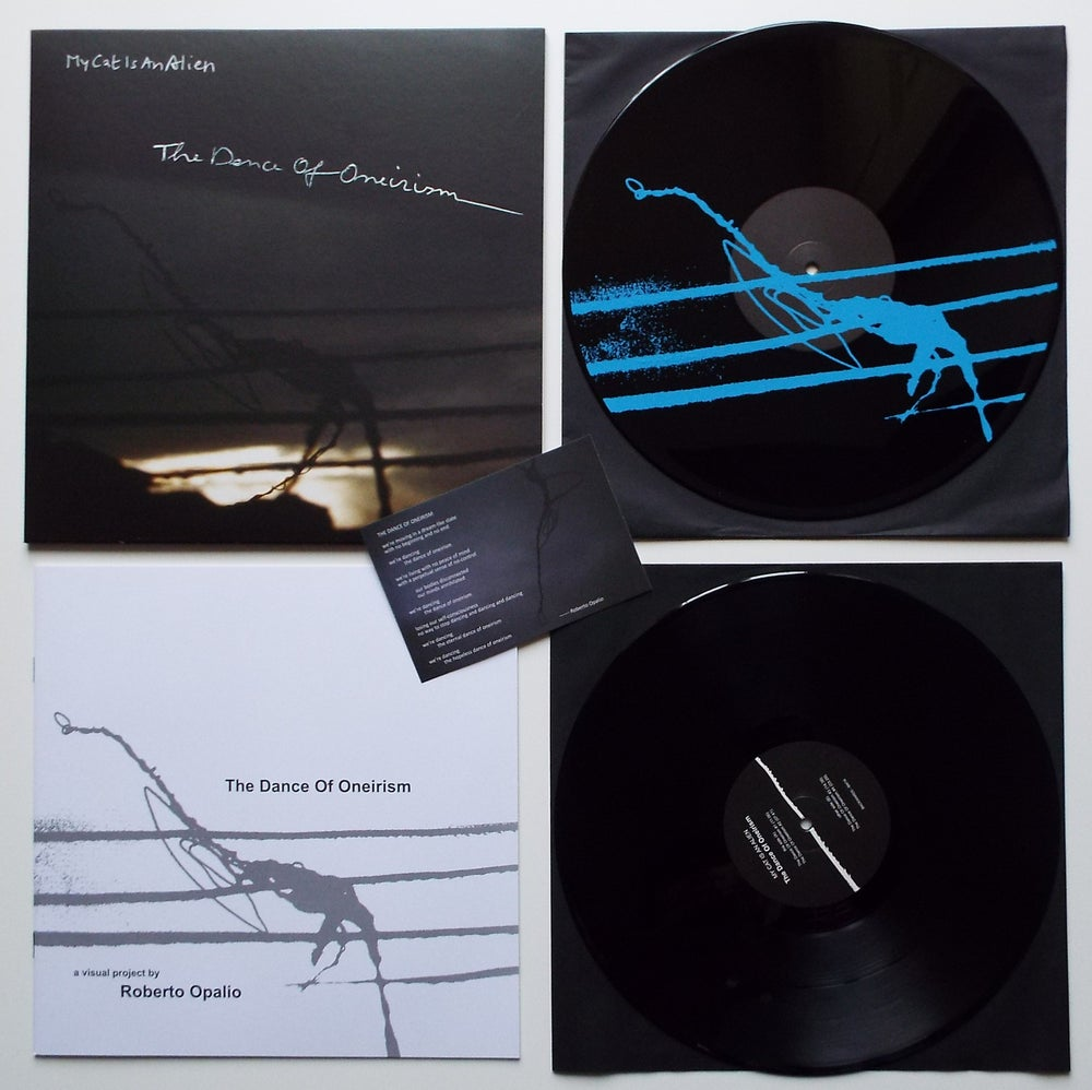 Image of MY CAT IS AN ALIEN - The Dance Of Oneirism 2xLP+BOOK [ltd.100 Blue Screenprinting]