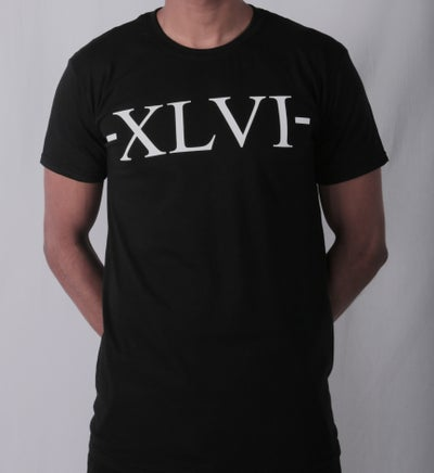 Image of XLVI Black Tee