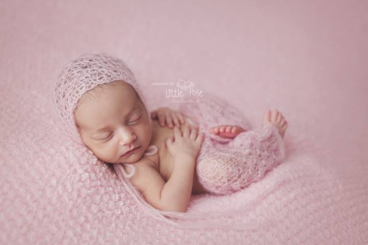 e0b30214140 Image of Newborn baby girl soft lace mohair bonnet and pants hand knitted  set   Luxury