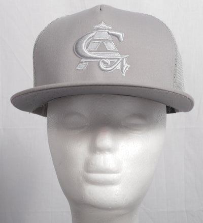 Image of CA Grey Mesh Snapback