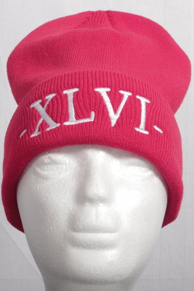 Image of Red XLVI Beanie