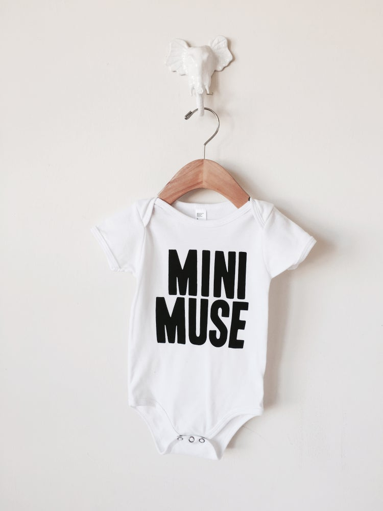 Image of Mini Muse onesie