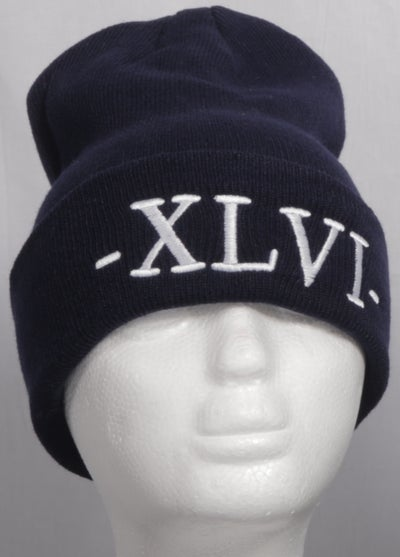 Image of Navy Blue XLVI Beanie