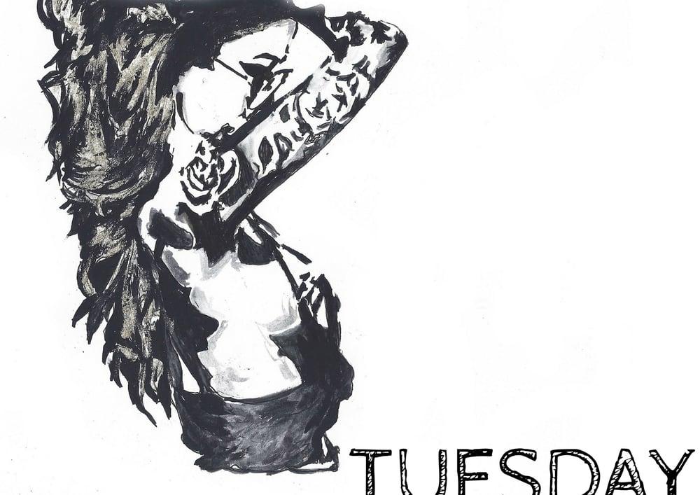 Image of TUESDAY (print)