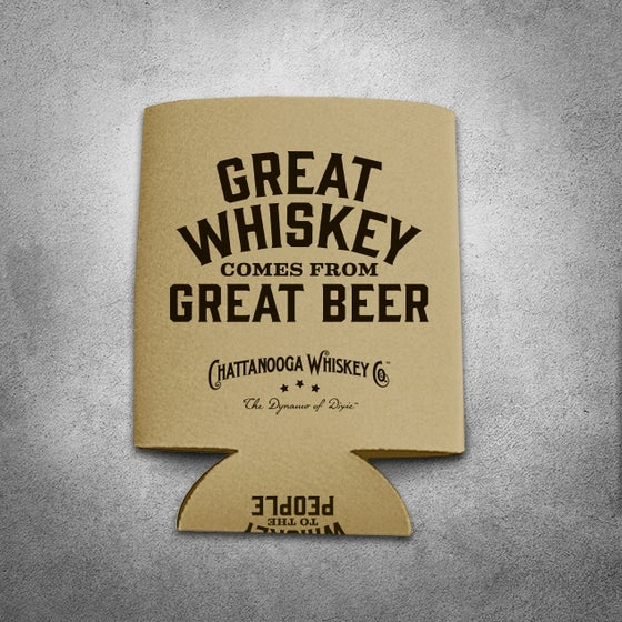 Image of CHATTANOOGA WHISKEY KOOZIE