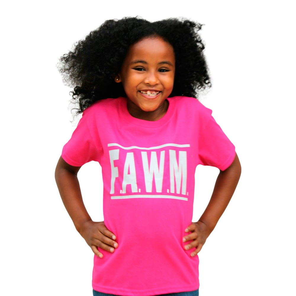 Image of Youth FAWM Tee - Hot Pink