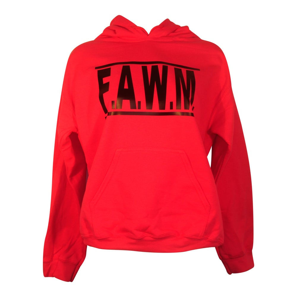 Image of FAWM  - Hot Pink Hoodie Adult