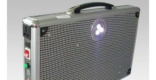 Image of Portable All in One 15watt (150watt output) Solar Powered Home/Outdoor Generator