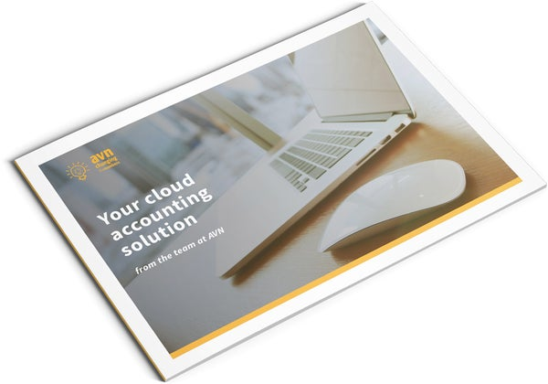 Image of Cloud Accounting Brochure Design (AVN)