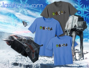 Image of Star Wars Dancing Bears t shirt ADULT and KID sizes