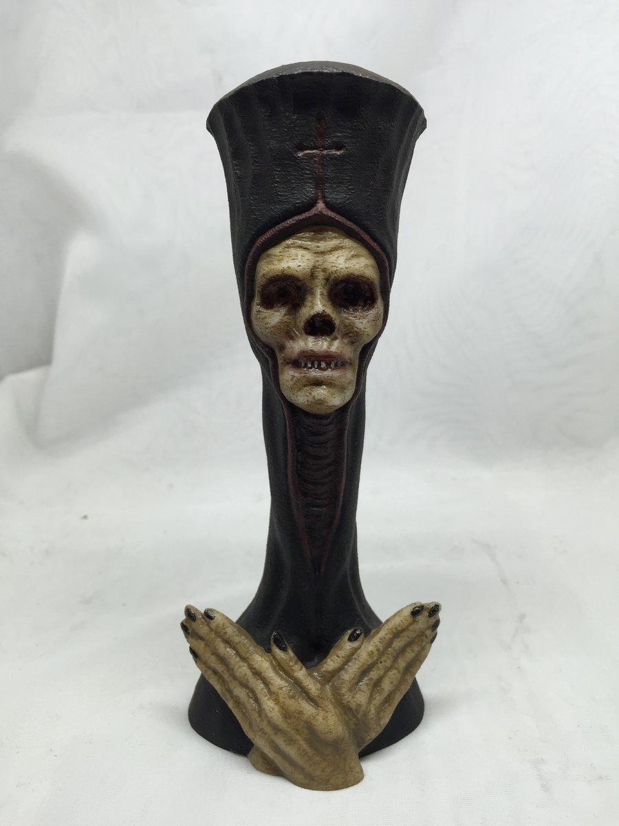 "Auto Paint Colors >> CHET ZAR STORE OF DOOM — ""Dead Pope"" Mini- Limited Edition Sculpture"