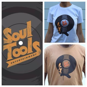 Image of Soul Tools Afro Record shirts / Soul Tools Radio