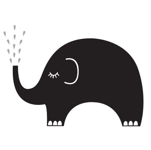 Image of Pizarra elefante