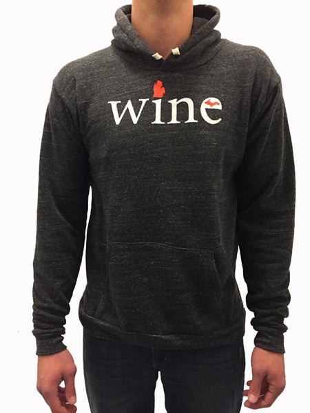 Image of MI Wine Unisex Hooded Sweatshirt