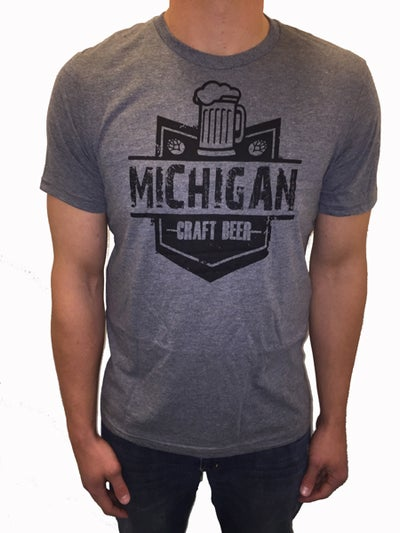 Image of Michigan Craftbeer Unisex Tee