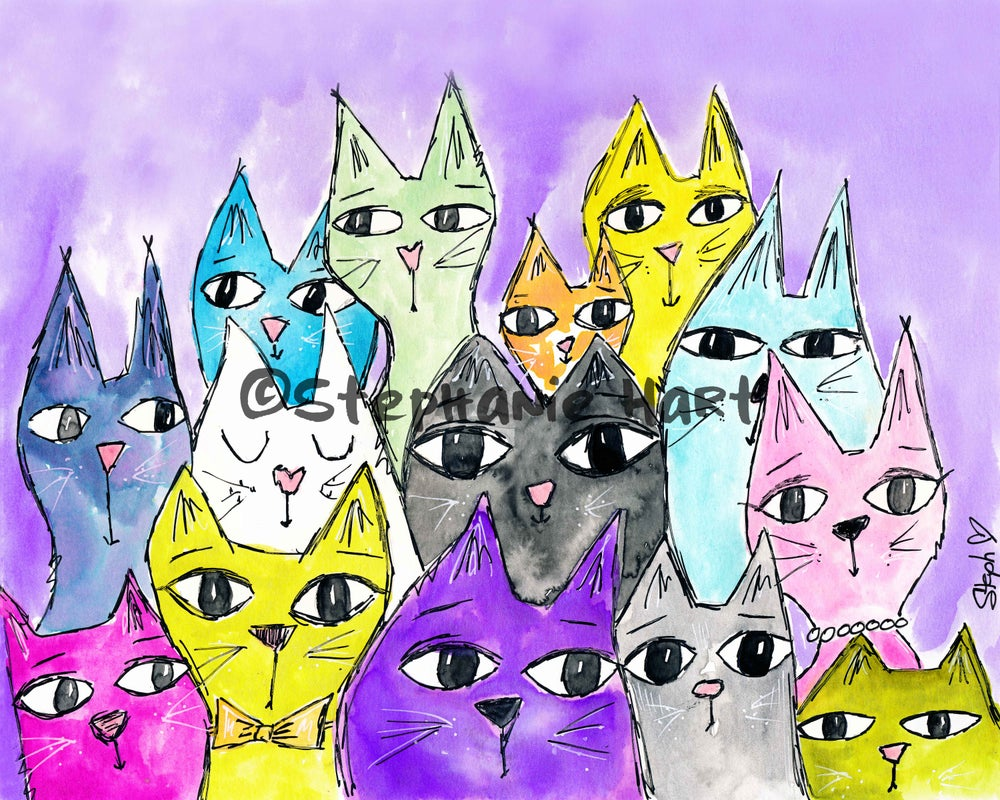 Image of Purple Haze Kitties