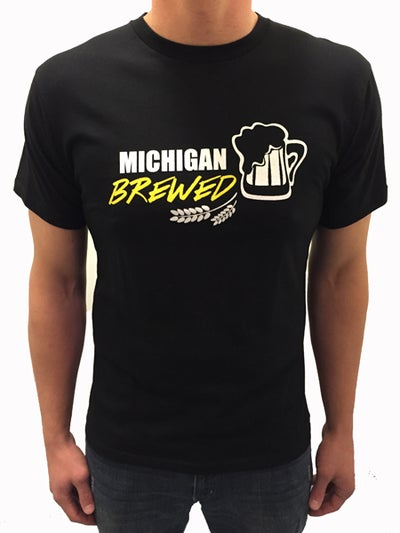Image of Brewed In MI Unisex Tee