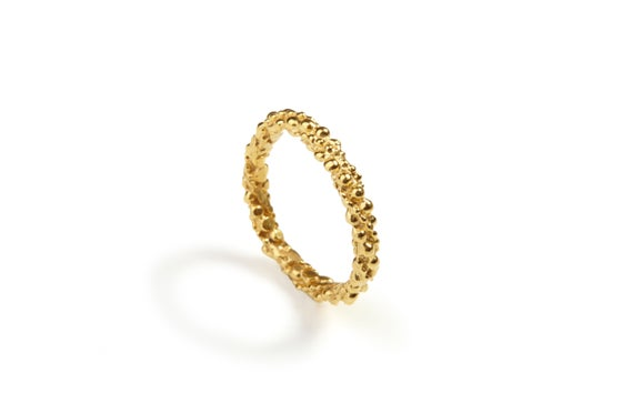 Image of 9ct gold Stark ring