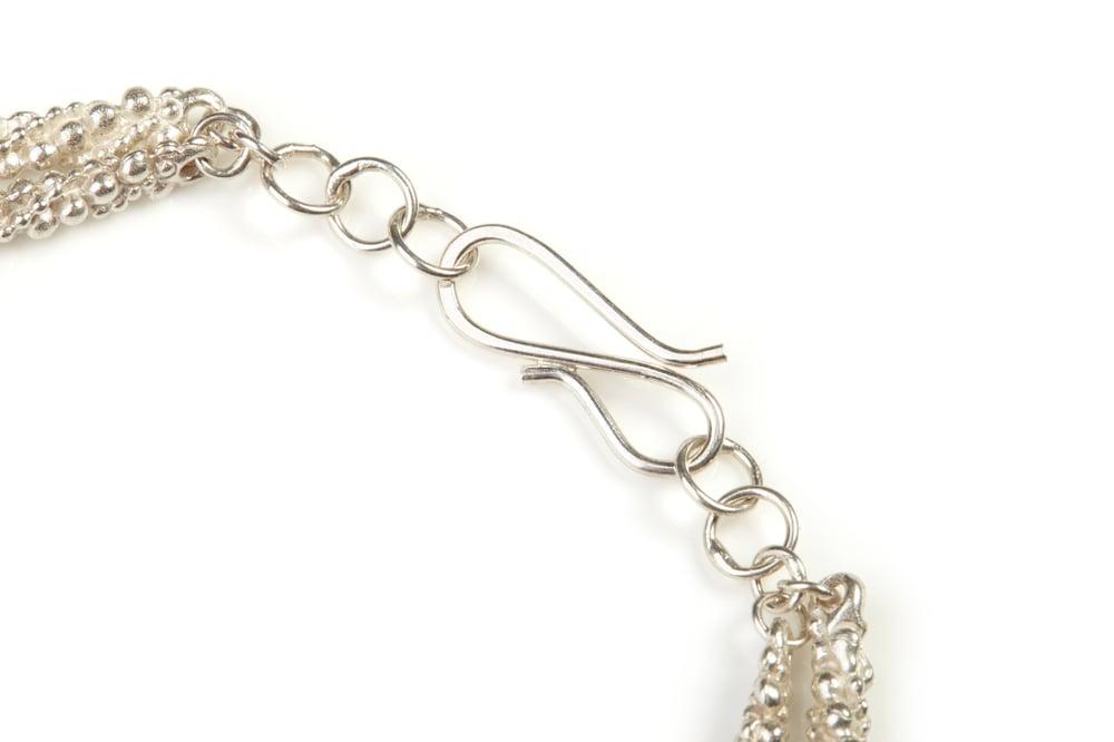 Image of Stark two strand textured bracelet