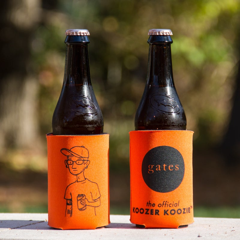 Image of Orange 'Koozer' Koozie