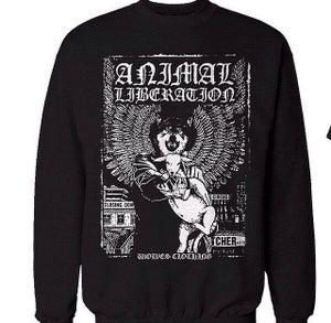 Image of Animal Liberation Crewneck Sweater