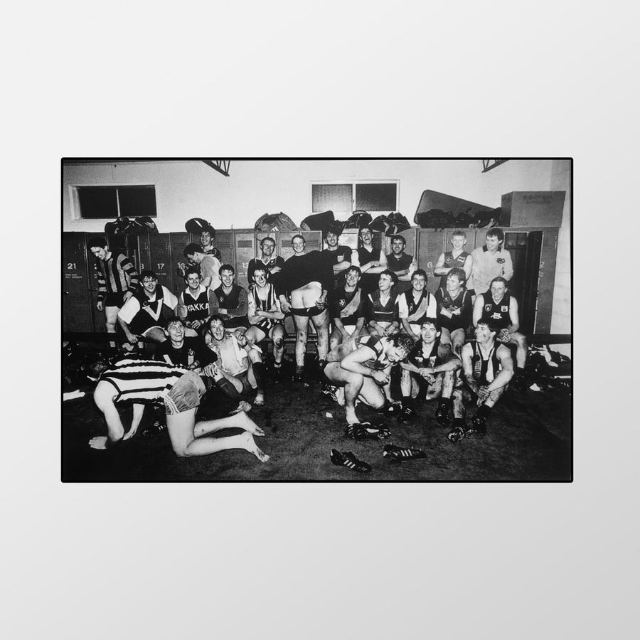 Image of Bottom of the league, Port Fairy, 1992 – Limited edition of 100