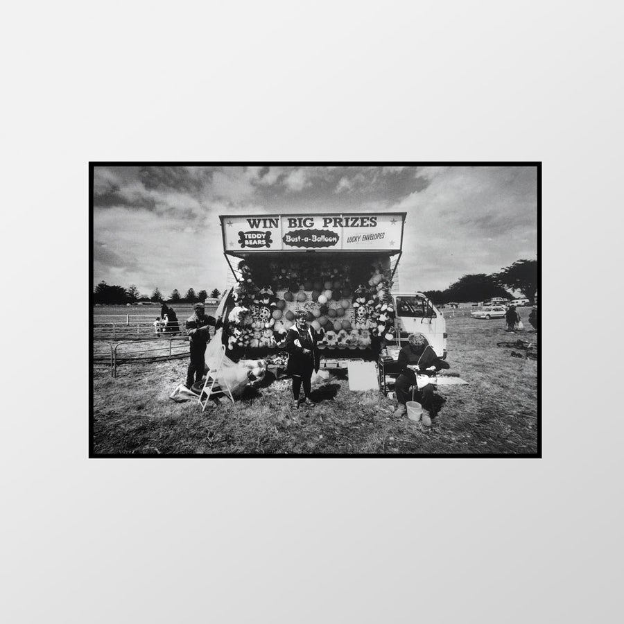 Image of Win big prizes, Port Fairy Show, 1996 – Limited edition of 100