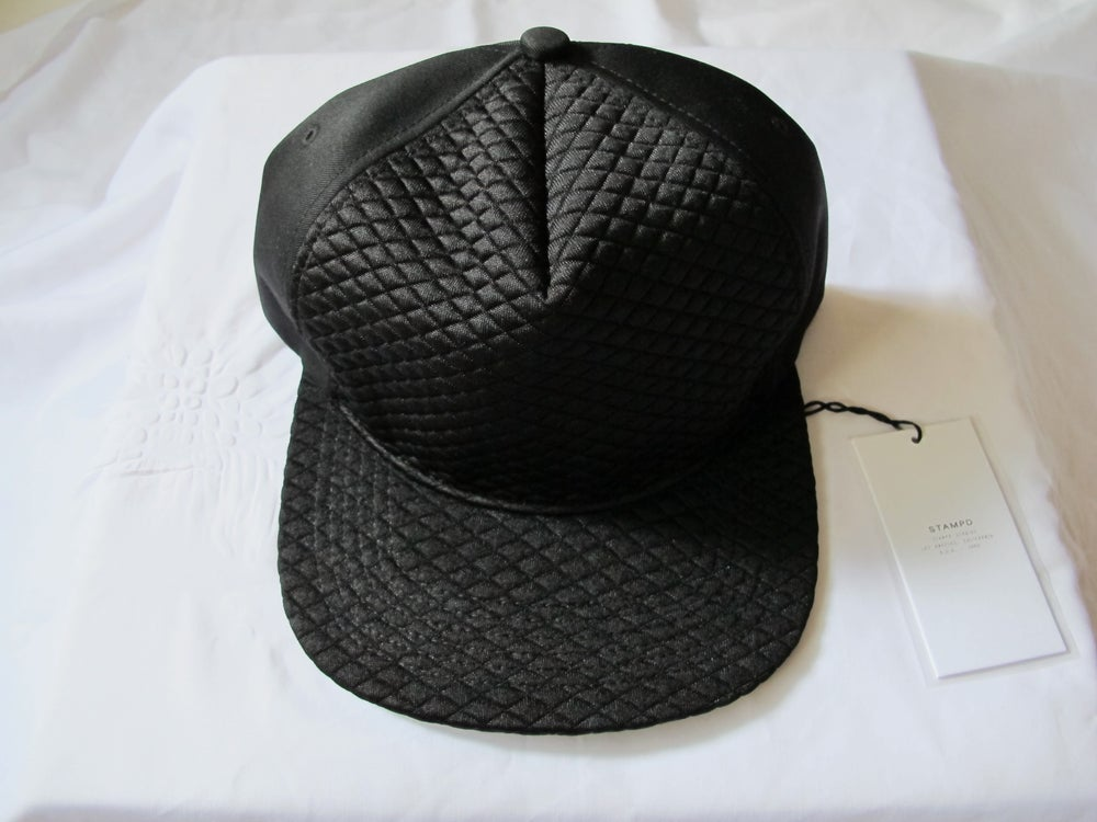 Image of STAMPD - Black Diamond Quilted Hat
