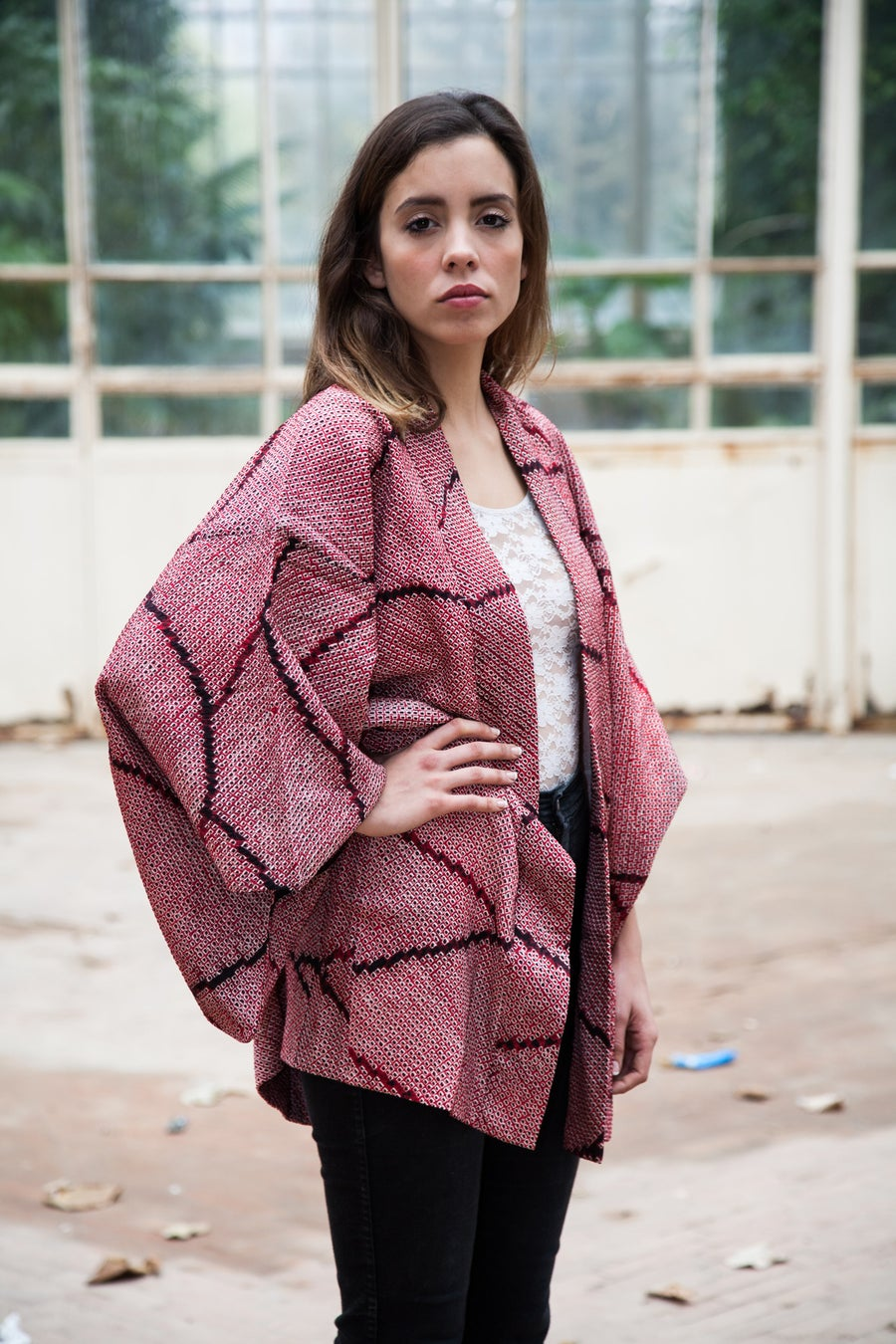 Image of Vintage Kimono Silk Blend