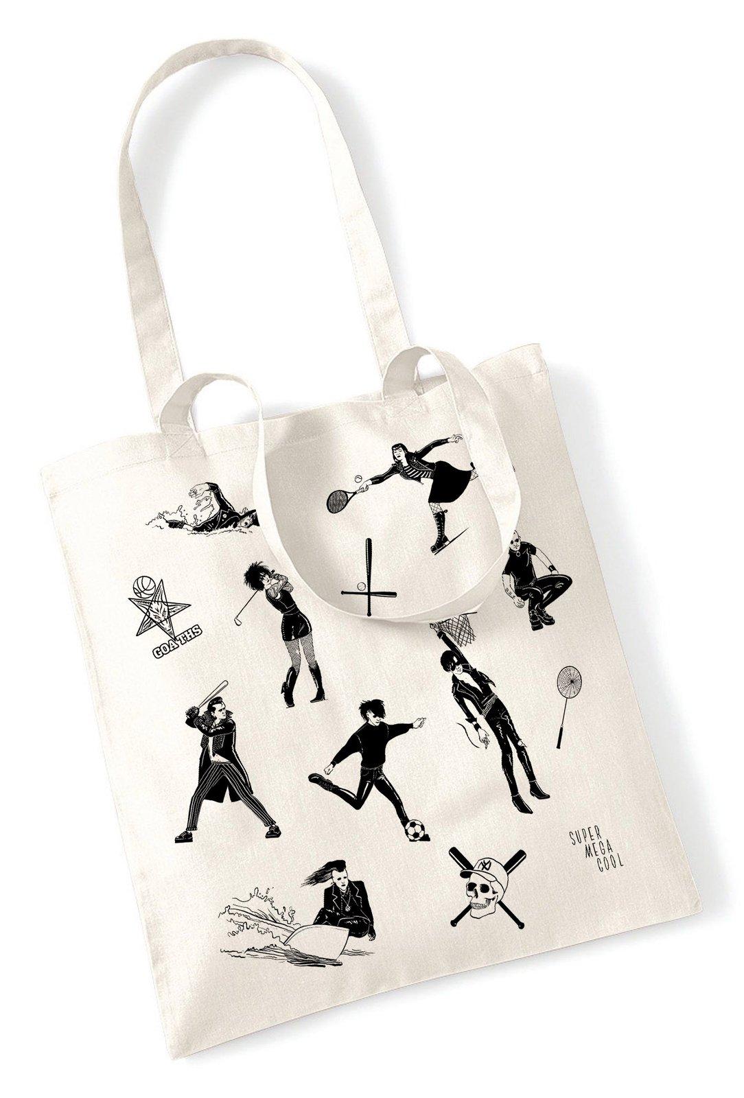 Le Cool Sportif Goth Shopping Mega Super Bag — 16qwU