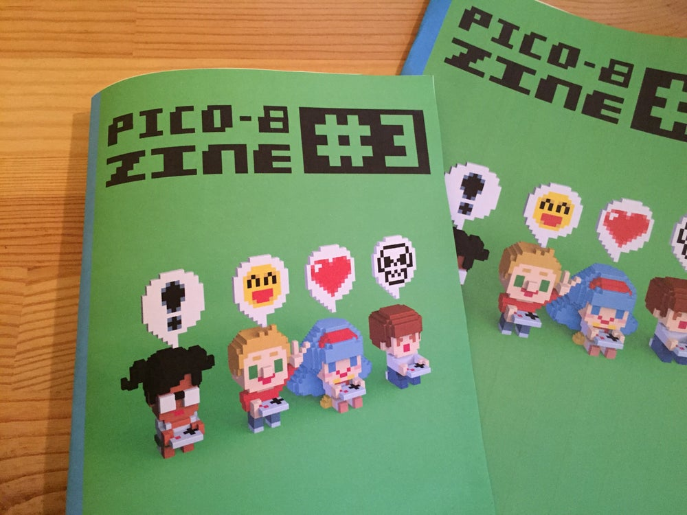 Image of PICO-8 fanzine #3