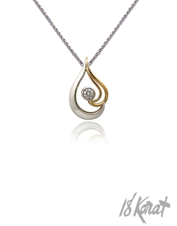 Helen's Diamond Pendant - 18Karat Studio+Gallery